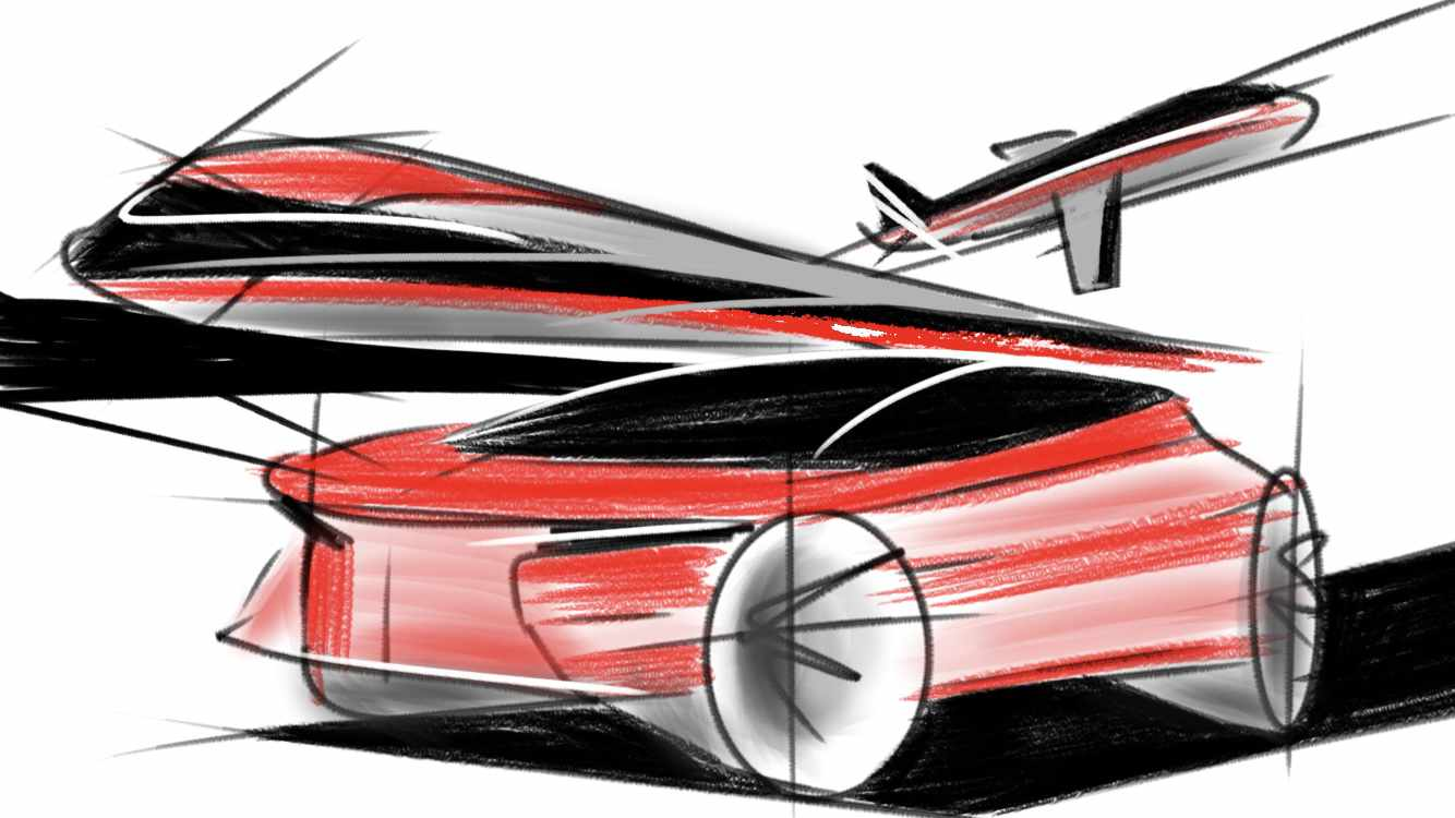 Schnitzer Group Future Mobility Scribble