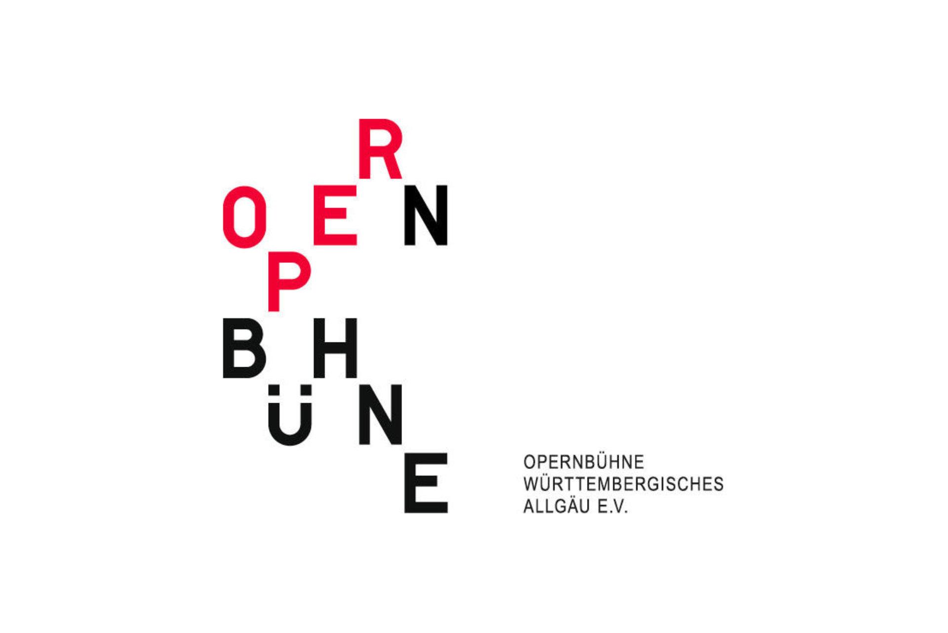 Opernbühne, Logo